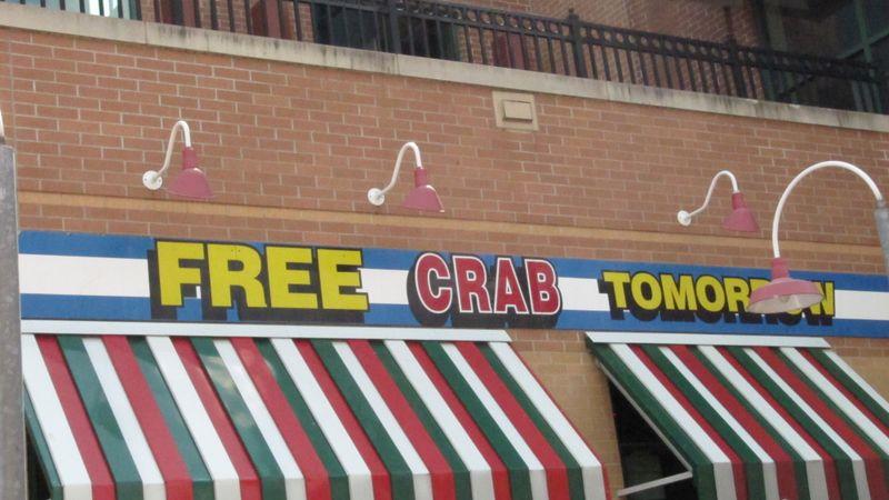 Free crab